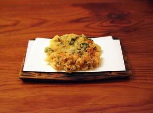海老と野菜のかき揚げ